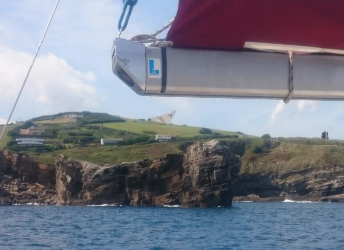 alquiler velero gijon asturias 2 dos horas