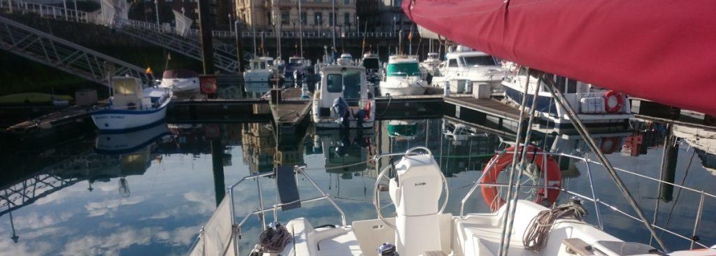 barco para cursos de licencia de navegación en gijón asturias