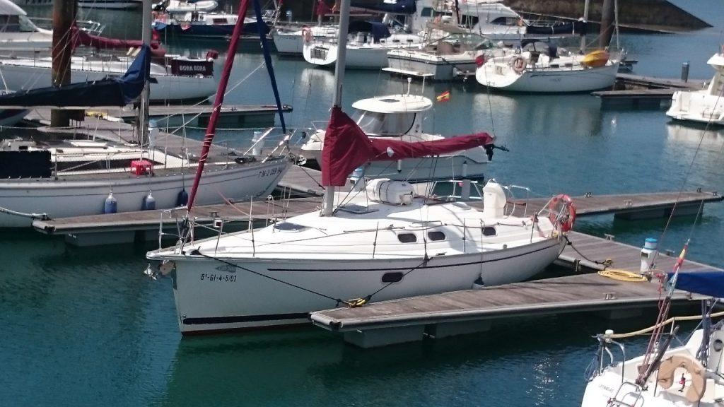 charter náutico en gijon asturias gib sea 33